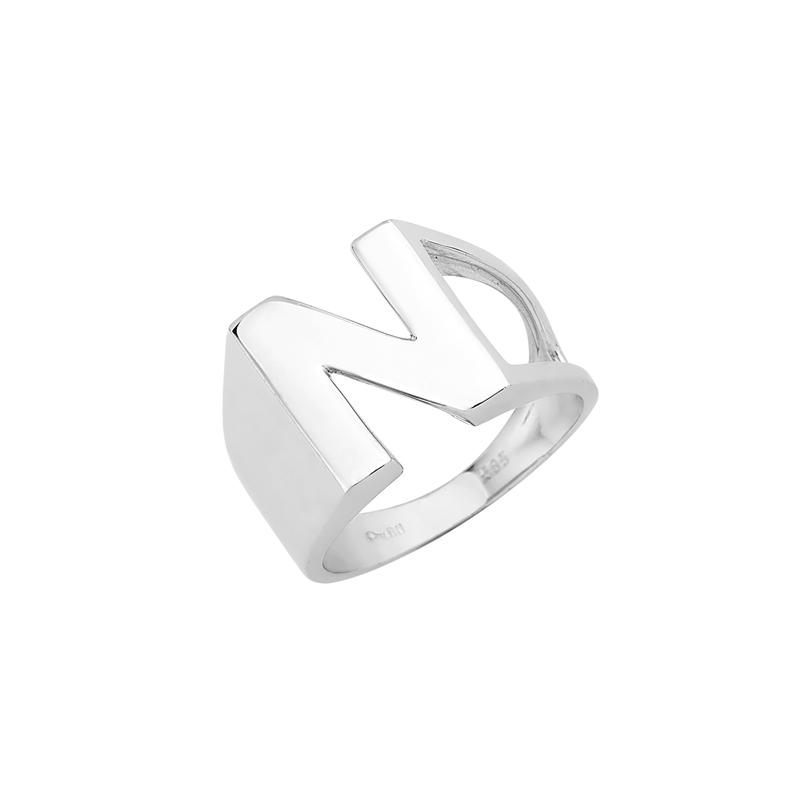 Δαχτυλίδι Chevalier N Λευκόχρυσος Κ14-06552NW