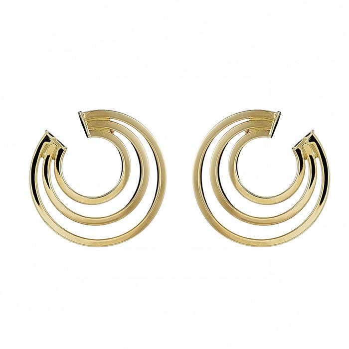Σκουλαρίκια Χρυσός Κ14 - 09117