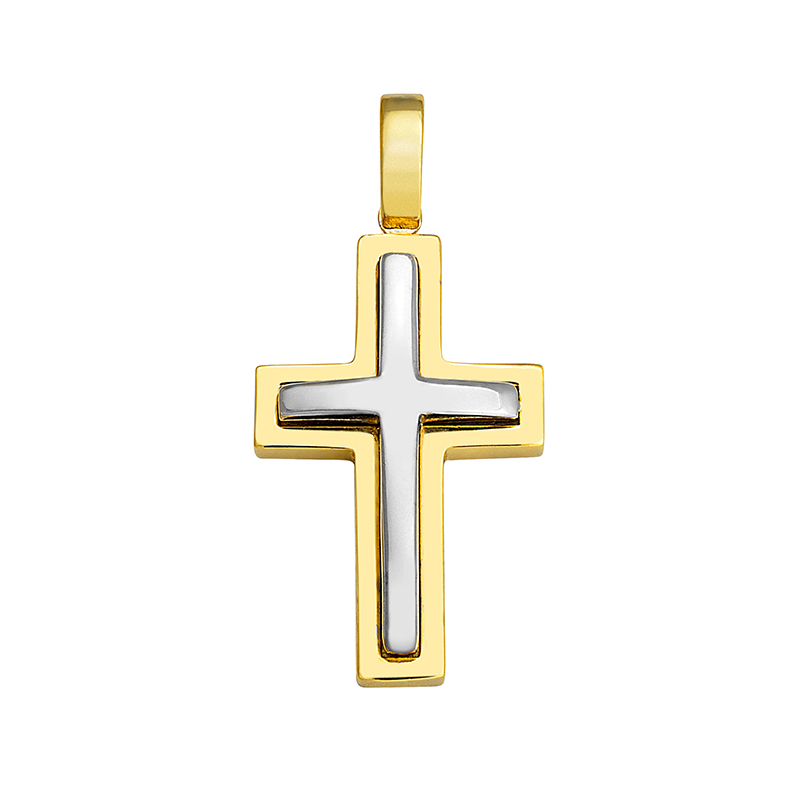 Σταυρός Δίχρωμος Κ14 - 13050