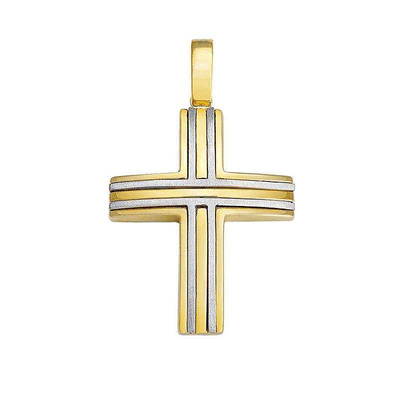 Σταυρός Δίχρωμος Κ14 - 13053
