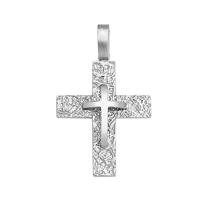 Σταυρός Λευκόχρυσος Κ14 - 13057