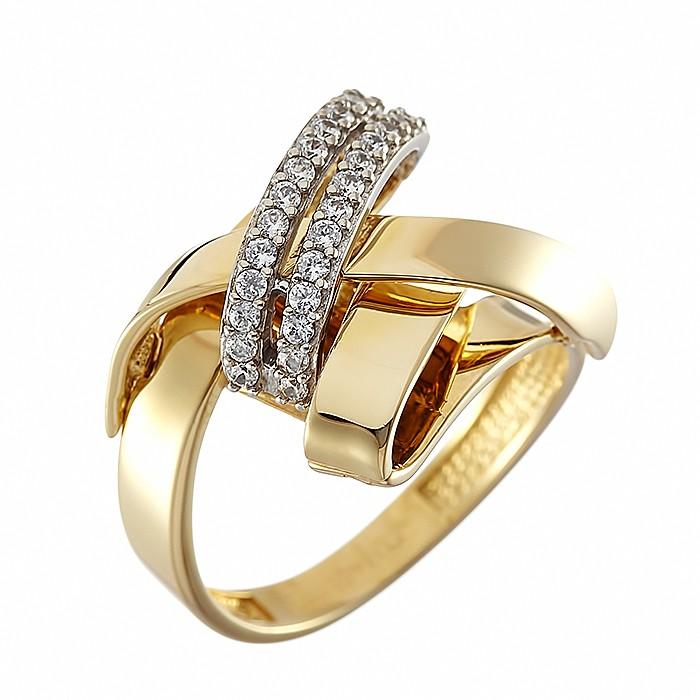 Δαχτυλίδι με Ζιργκόν Δίχρωμο Κ14 - 09145