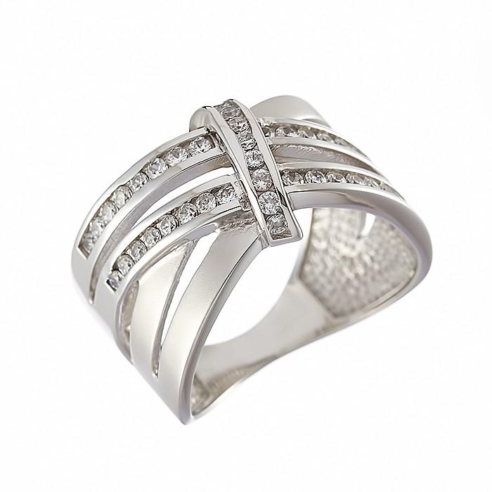 Δαχτυλίδι με Ζιργκόν Λευκόχρυσος Κ14 - 09179