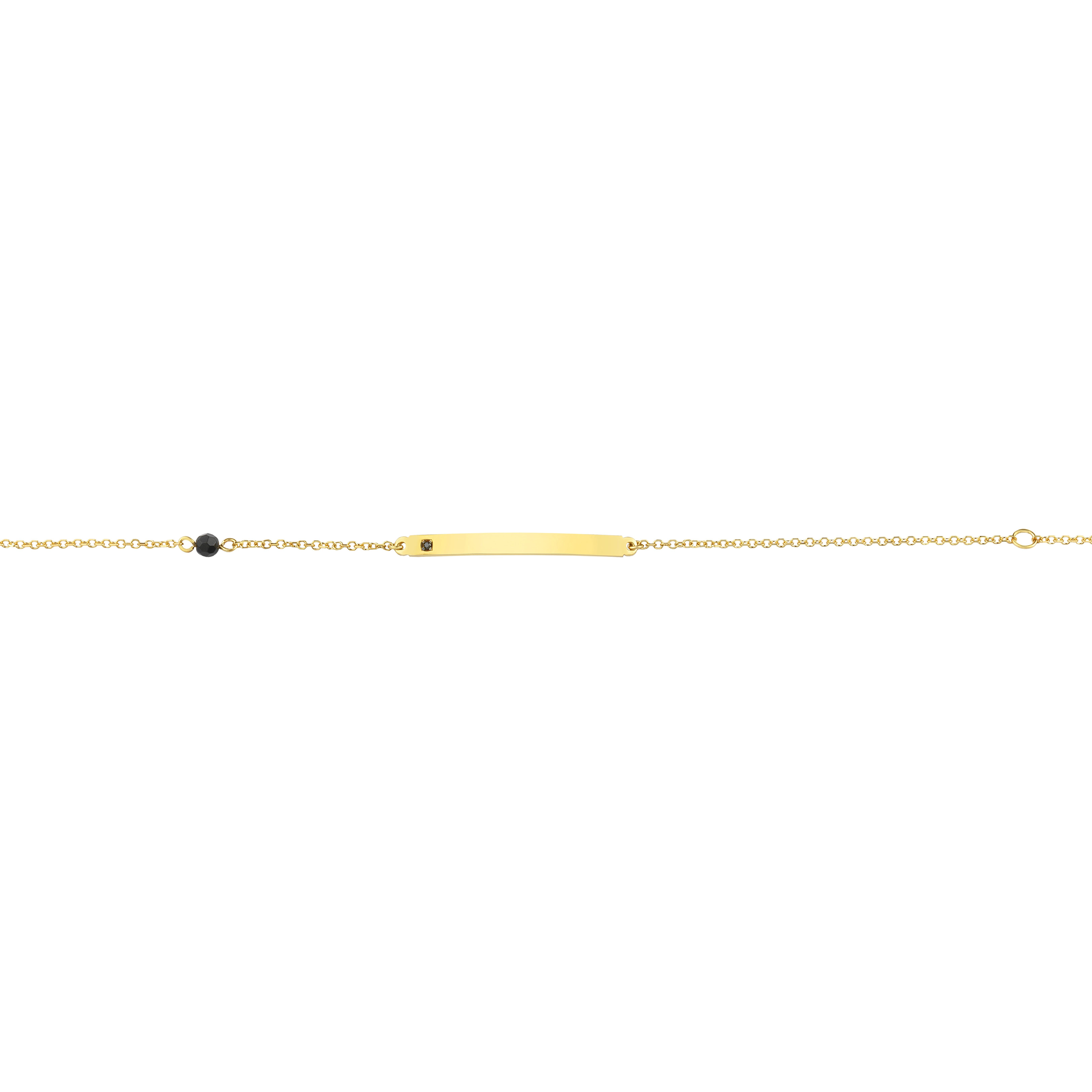 Παιδική Ταυτότητα με Σπινέλιο Χρυσός Κ9 - 1T217