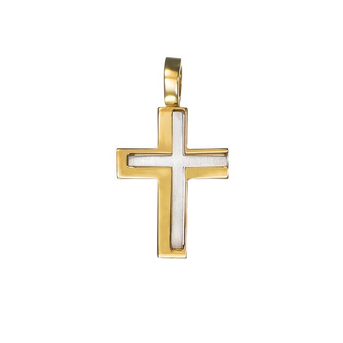 Σταυρός Δίχρωμος Κ14 - 13012