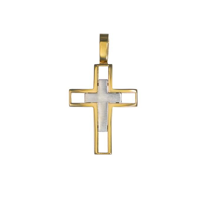 Σταυρός Δίχρωμος Κ14 - 13015