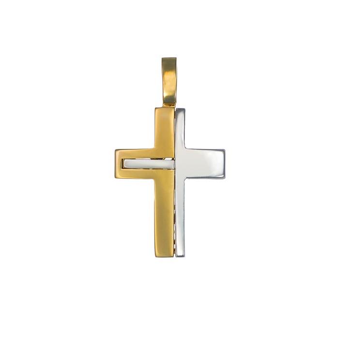 Σταυρός Δίχρωμος Κ14 - 13016
