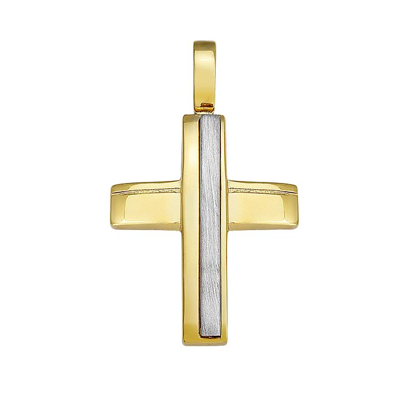 Σταυρός Δίχρωμος Κ14 - 13048