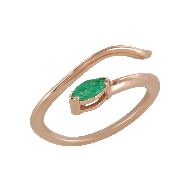 Δαχτυλίδι Chevalier με Ορυκτή Πέτρα Ροζ Χρυσός Κ14 - 16013PEM