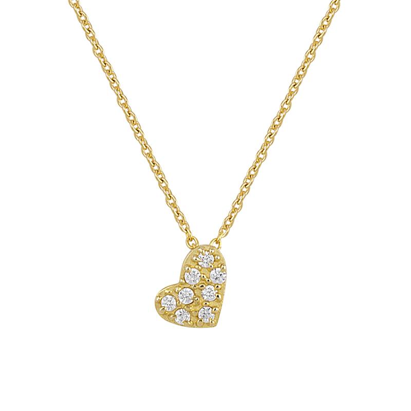 Μενταγιόν με Διαμάντια Χρυσός Κ18 - 13027P