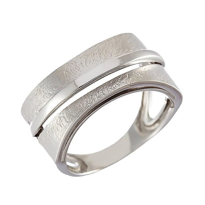Δαχτυλίδι Λευκόχρυσος Κ14 - 07387