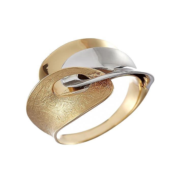 Δαχτυλίδι Δίχρωμο Κ14 - 08315