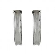 Σκουλαρίκια Λευκόχρυσος Κ14 - 09113