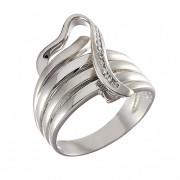 Δαχτυλίδι με Ζιργκόν Λευκόχρυσος Κ14 - 06312