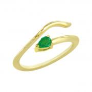 Δαχτυλίδι Chevalier με Ορυκτή Πέτρα Χρυσός Κ14 - 16014YEM