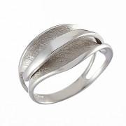 Δαχτυλίδι Λευκόχρυσος Κ14 - 07382
