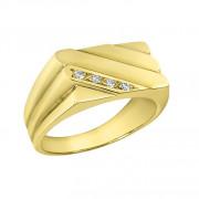 Δαχτυλίδι Ανδρικό με Ζιργκόν Χρυσός Κ14 - 90230