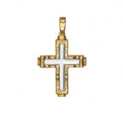 Σταυρός Δίχρωμος Κ14 - 06090