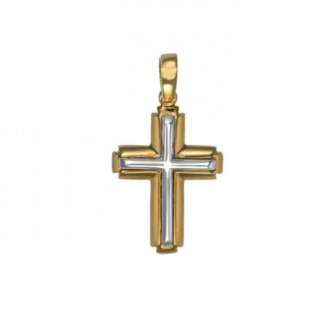 Σταυρός Δίχρωμος Κ14 - 06097