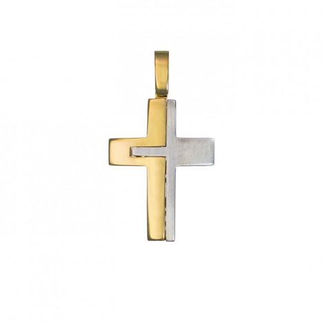 Σταυρός Δίχρωμος Κ14 - 13010