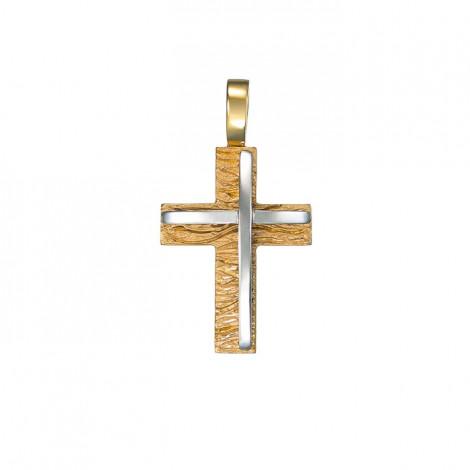 Σταυρός Δίχρωμος Κ14 - 13011