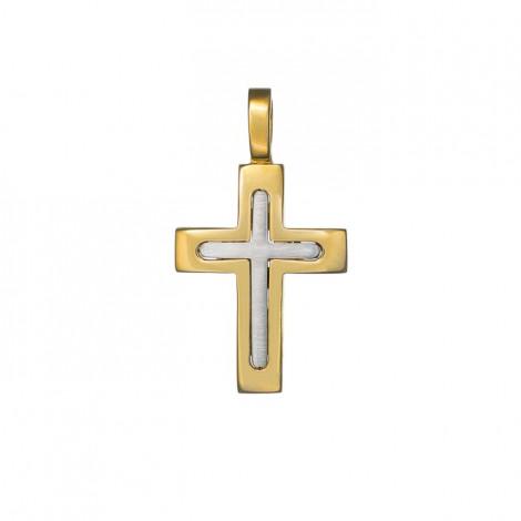 Σταυρός Δίχρωμος Κ14 - 13013