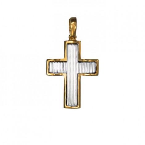 Σταυρός Δίχρωμος Κ14 - 06186