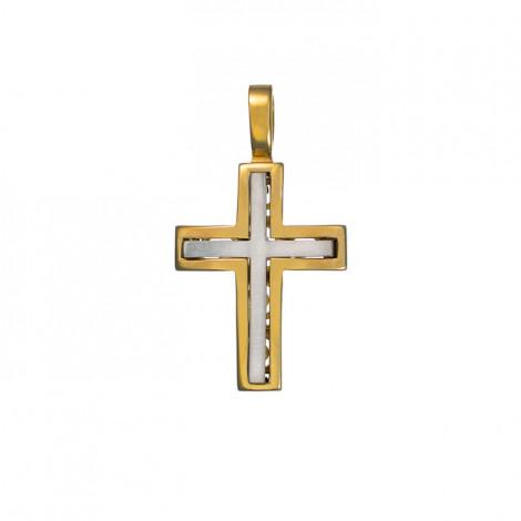 Σταυρός Δίχρωμος Κ14 - 13014