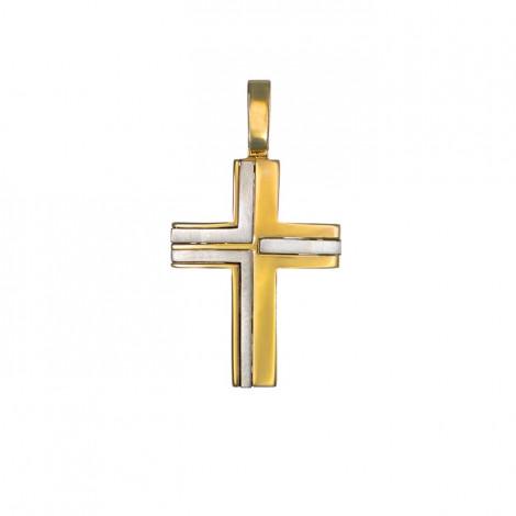 Σταυρός Δίχρωμος Κ14 - 13009