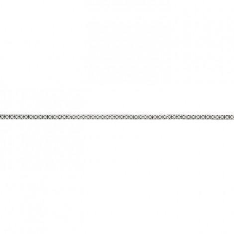 Βραχιόλι με Διαμάντια Λευκόχρυσος Κ18 - 06510