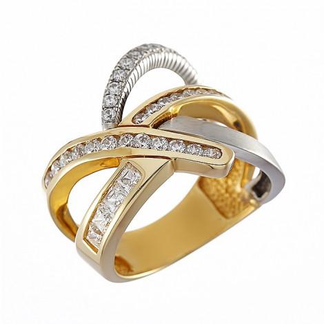Δαχτυλίδι με Ζιργκόν Χρυσός Κ14 - 06323