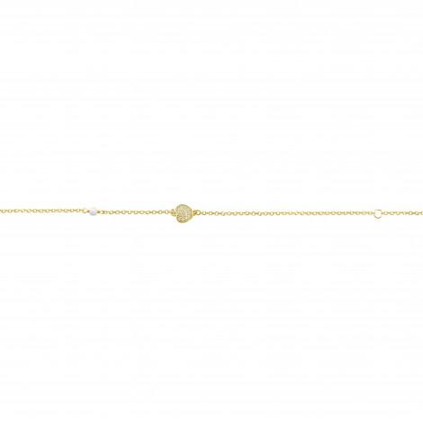 Παιδικό Βραχιόλι με Ζιργκόν Χρυσός Κ9 - 10481